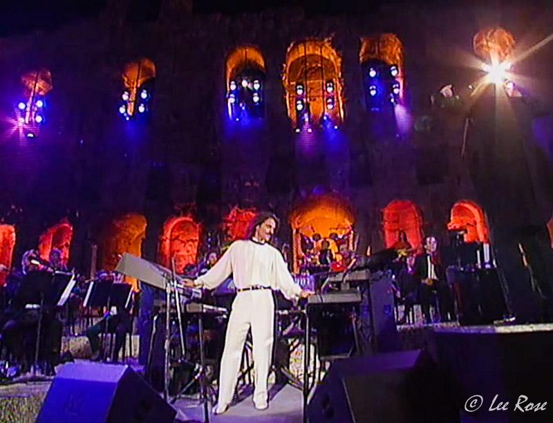 Lee Rose Designs | Yanni Live at the Acropolis